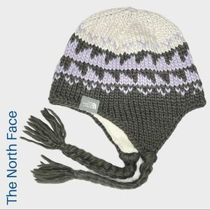 The North Face knit winter hat